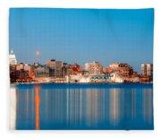 Madison Skyline Fleece Blanket