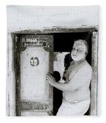 Madras Man Fleece Blanket