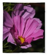 Magenta Cosmos 2 Fleece Blanket