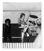 Magic Dick And J. Geils In Oakland 1976 Fleece Blanket