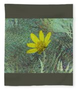 Magic Fern Flower 01 Fleece Blanket