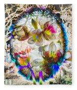 Magic Flowering Fleece Blanket