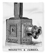 Magic Lantern, 1891 Fleece Blanket