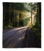 Magic Of Redwood Fleece Blanket