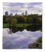 Magical 1 - Central Park - New York Fleece Blanket