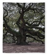 Magical Angel Oak Fleece Blanket