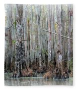Magical Bayou Fleece Blanket