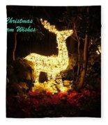 Magical Christmas Fleece Blanket
