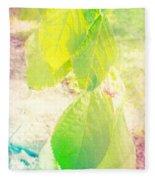 Magical Leaves Fleece Blanket