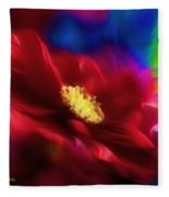 Magical Rose Fleece Blanket