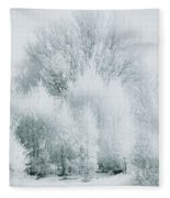 Magical Snow Palace Fleece Blanket