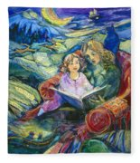 Magical Storybook Fleece Blanket