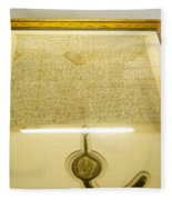 Magna Carta Fleece Blanket