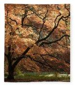 Magnificent Autumn Fleece Blanket