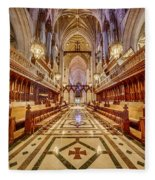 Magnificent Cathedral Iv Fleece Blanket