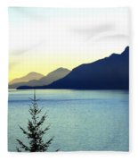 Magnificent Howe Sound Fleece Blanket