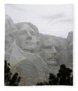 Magnificent Mount Rushmore Fleece Blanket
