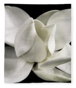 Magnolia Bloom Fleece Blanket
