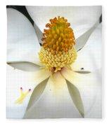 Magnolia Blossom Fleece Blanket