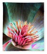 Magnolia Flower - Photopower 1841 Fleece Blanket