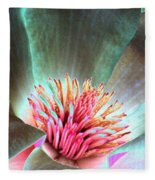 Magnolia Flower - Photopower 1843 Fleece Blanket