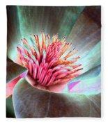 Magnolia Flower - Photopower 1844 Fleece Blanket