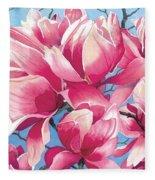 Magnolia Medley Fleece Blanket