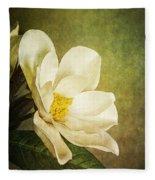 Magnolia Morning Fleece Blanket