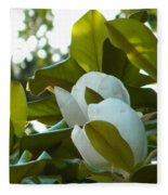 Magnolia Pair Fleece Blanket