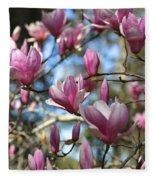 Magnolia Perspective Fleece Blanket
