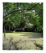 Magnolia Plantation Bridge Fleece Blanket