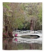 Magnolia Plantation Gardens Series IIi Fleece Blanket