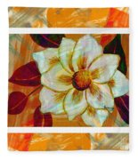Magnolia Seduction Fleece Blanket