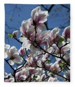 Magnolia Twig Fleece Blanket