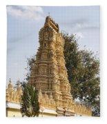Maharaja's Palace India Mysore Fleece Blanket