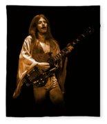Mahogany Rush Seattle #1 Enhanced In Amber Fleece Blanket
