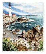 Maine Attraction Fleece Blanket
