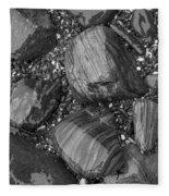 Maine Stones Fleece Blanket