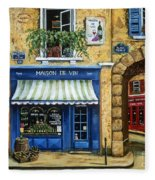Maison De Vin Fleece Blanket