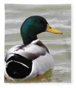 Majestic Mallard - Duck Fleece Blanket