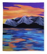 Majestic Mountains Fleece Blanket