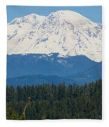 Majestic Rainier Fleece Blanket