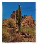 Majestic Saguaro Fleece Blanket