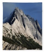 Majesty In The Canadian Rockies Fleece Blanket