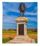 Major-general Doubleday Fleece Blanket