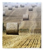Make Hay While The Sun Shines  Fleece Blanket