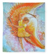 Make Your Soul Shine Fleece Blanket