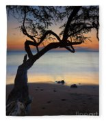 Makena Breeze Fleece Blanket