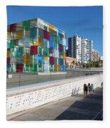 Malaga, Costa Del Sol, Malaga Province Fleece Blanket