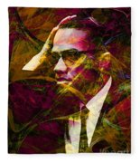 Malcolm X 20140105 Fleece Blanket